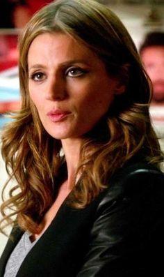 Time Will Tell 73 (6x05) Castle Beckett, Castle Tv, Castle Season 6, Stana Katic, Seasons, Hot, Face, Hair, Celebs