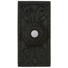 Weathered Rectangular Doorbell  Button | LampsPlus.com
