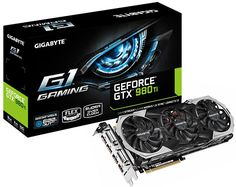Gigabyte gefore gtx 980 ti G1 gaming edition with colour  changeable led windforce logo