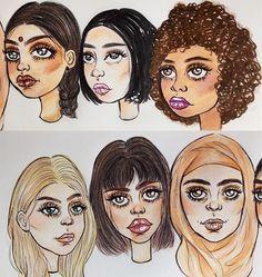 Все девушки на одно лицо