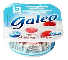 Boni Galeo light aardbei verse kaasspecialiteit met zoetstoffen, 0% vet