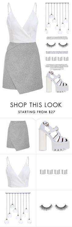 """""""Keep it clean"""" by hevsyblue2 ❤ liked on Polyvore featuring Jeffrey Campbell, Maison Margiela, CB2 and Whiteley"""