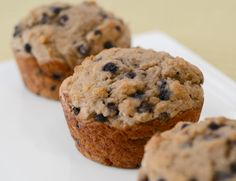Whole Wheat Blueberry Muffins w/ protein powder