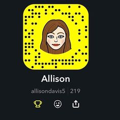 Growing a business? Using social media? Is attraction marketing what you do? SnapChat is a thing. Follow me  there if youd like. Its fun :) allisondavis5 is my name there. Or you can screen shot this snap code and add people that way. Maybe Ill do a tutorial soon and yes my daughter has taught me all about it :) Whatever social media the kids are doing will be the next big platform  #snapchat #snapchatmom #attractionmarketing #entrepreneurlifestyle #entrepreneur  #socialmediamarketing…