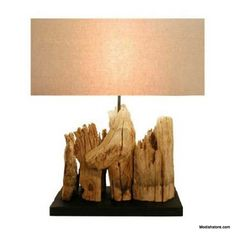 Reclaimed Driftwood Table Lamp Harbor By Drift Home