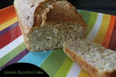 Lemon Zucchini Cake - easy to make and super moist and tasty cake.