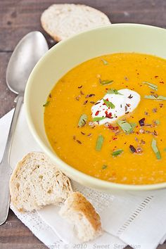 Sweet Sensation: Juha od mrkve i crvene leće / Carrot And Red Lentil Soup