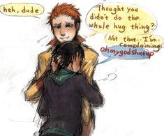 YJ on Twitter- Hug by KINOKO19.deviantart.com on @deviantART