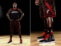 university of cincinnati basketball graphics | ... Ultra-Lightweight adiZero Basketball Uniforms for March Madness
