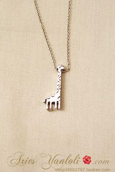 giraffe neckless