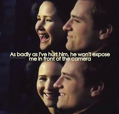 This just makes me think how much Josh & Peeta are so much alike.  :-)