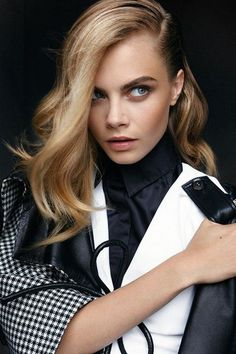 Serious side part action. @thecoveteur