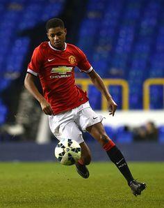 Marcus Rashford. Striker Manchester United.