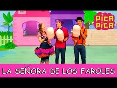 Pica-Pica - La Señora de los Faroles (Videoclip Oficial) - YouTube Dinosaur Birthday Party, Youtube, Holidays And Events, Family Guy, Baby Shower, Songs, Learning, Halloween, Fictional Characters