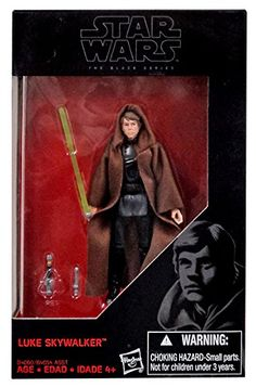 Amazon.com  Star Wars 2015 The Black Series Luke Skywalker (Return of the  Jedi) Exclusive Action Figure 3.75 Inches  Toys   Games 1013eea602