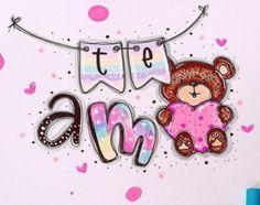 Meraki, Sharpie, Hand Lettering, Doodles, Bullet Journal, Kawaii, Baby Shower, Stickers, Happy