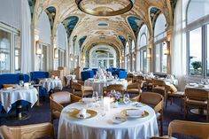 In Evian-les-Bains, on the French shores of Lake Geneva at the foot of the Alps, the Hôtel Royal offers you … read Evian Les Bains, Leading Hotels, Unique Hotels, Lounge, Lake Geneva, Palace Hotel, Rhone, Hotel Spa, Belle Epoque