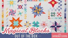 Turn basic pieced units into incredibly intricate quilts — only you will know how simple they really were! Discover your ability to piece an array of amazing blocks.