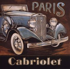 Paris - Cabriolet (Gregory Gorham)