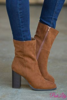 The Phoebe Boots Chestnut