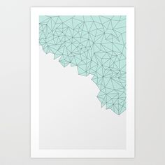 Crystal Art Print by Future - $16.12