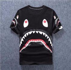 Men's Bape shark T-Shirt