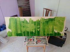 """Saatchi Art Artist Jukka Juhani Uusitalo; Painting, """"Valley 2014"""" #art"""