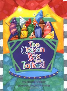 I love the book The Crayon Box That Talked by Shane DeRolf because it can be used to teach so many things. The book has rhyming words, c. Elementary Counseling, School Counselor, Elementary Art, Beginning Of The School Year, First Day Of School, School Days, School Week, School Gifts, Summer School