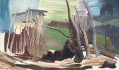 Ivon Hitchens - Alchetron, The Free Social Encyclopedia Landscape Drawings, Abstract Landscape, Landscape Paintings, Abstract Art, Modern Paintings, Uk Landscapes, Tate Gallery, Realism Art, Contemporary Landscape