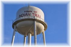 Indian Trail NC Water Tower