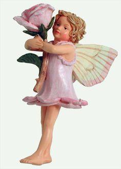 The Rose Fairy - Cicely Mary Barker Flower Fairies