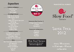 Santa Teca 2012 con Slow Food Tarraco