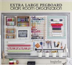 Now you can have all your crafts in one place AND make them look pretty!