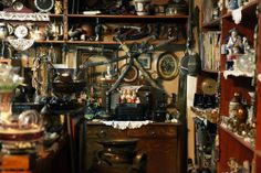 Scene 37 #writing #scripts #antiques #junk #clumsiness