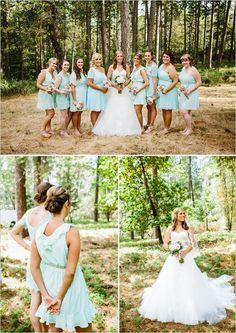 mint bridesmaid dresses http://www.weddingchicks.com/2013/09/30/vintage-vineyard-wedding/