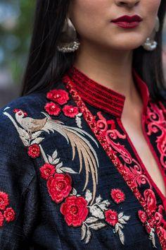 Indian look, wedding wear, look book, whatiwore  Dark floral For more visit: Www.mscocoqueen.com