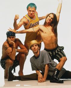 Red Hot Chili Peppers: Top 5 favorite band!!  So original and fun!  Cant wait to see them in NOLA!