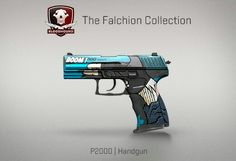 Counter-Strike Global Offensive: The Falchion Collection: P2000 Handgun