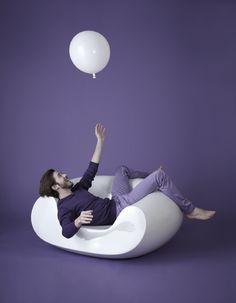 Chubby armchair, design by Marcel Wanders Slide Design, Marcel, Egg Chair, Style Vintage, Bean Bag Chair, Armchairs, Wander, Gardens