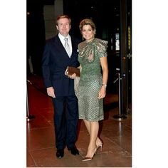 03-11-2014  Galaddiner Queen Maxima and King Willem-Alexander leaving the Plaza hotel for the statebanquet dinner at the Cheong Wa Dae palace with President Park on the 1st day of the 2 day statevisit to Korea.