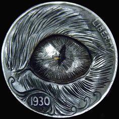 Italy Pictures, Hobo Nickel, Coin Art, Old Money, Skull Art, Edc, Sculpture Art, Skulls, Buffalo