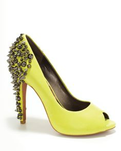 """Sam Edleman """"Lorissa"""" Pumps in Yellow. I have them in denim ..so its completely ok for me to get them in another color :)"""