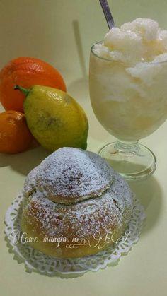 COME MANGIO IO: La Granita di Agrumi ....... dalla pagina: CON-FUSIONE IN CUCINA.... cucinando con Maurizio...!!!