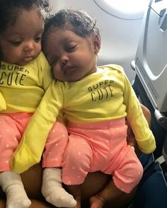 Likes, 8 Comments - Melanin Ruling Black Twin Babies, Twin Baby Girls, Cute Black Babies, Black Baby Girls, Beautiful Black Babies, Cute Twins, Cute Little Baby, Pretty Baby, Cute Baby Girl