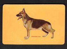 Woolworths Swap Card DOG Series Shepherd DOG Orange | eBay