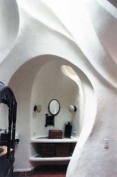 FlyingConcrete Art Nouveau house