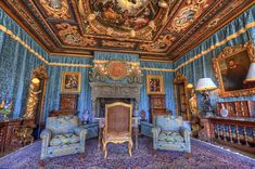 Hearst Castle Interior | Hearst Castle Doge's Suite