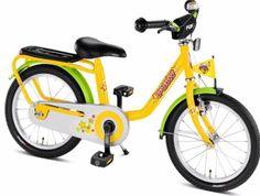 Rower Puky Z6 - żółty
