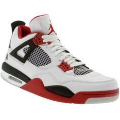 premium selection bd726 057d2 Air Jordan 4 Fire Red