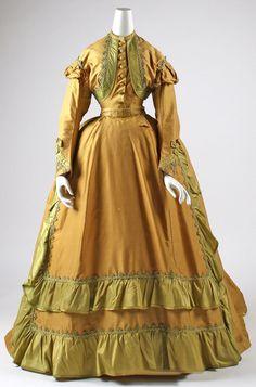 Afternoon Dress 1866 The Metropolitan Museum of Art